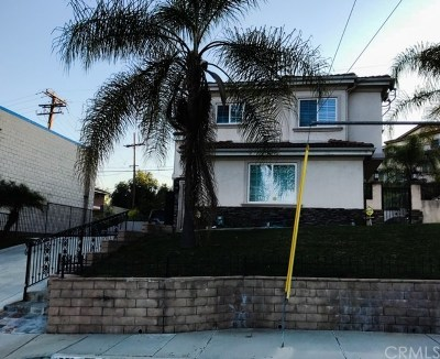 Walnut Single Family Home For Sale: 551 Bourdet Street