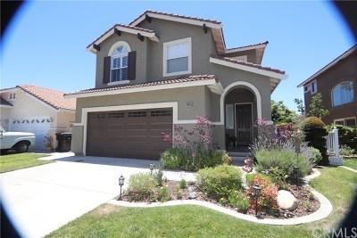 Rancho Cucamonga CA Single Family Home Active Under Contract: $549,000