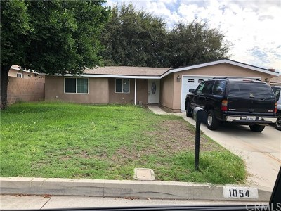 Azusa Single Family Home For Sale: 1054 E Fondale Street