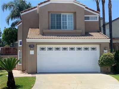 Chino Hills Single Family Home For Sale: 6306 Gladiola Circle