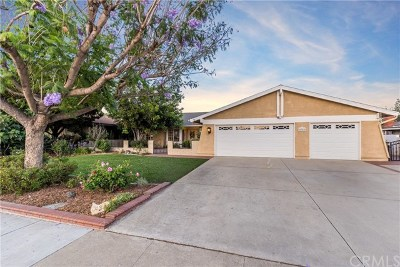 La Verne Single Family Home Active Under Contract: 4342 Miller Street