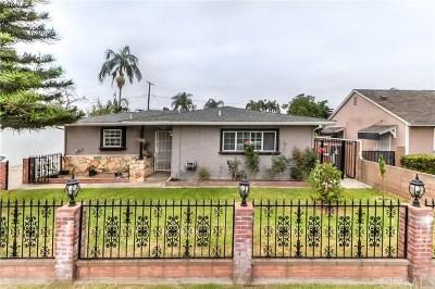 Pico Rivera Single Family Home For Sale: 9538 Abbotsford Road