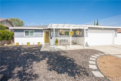 Corona Single Family Home For Sale: 1470 Avenida Del Vista