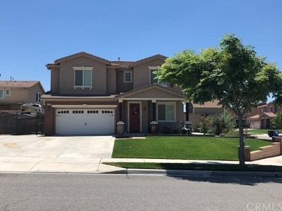 Fontana Single Family Home For Sale: 15345 Thistle Street