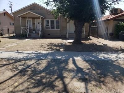 Hemet Multi Family Home For Sale: 424 N Taylor Street