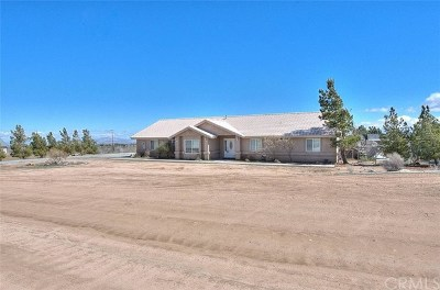 Phelan Single Family Home For Sale: 8427 Sonora Road