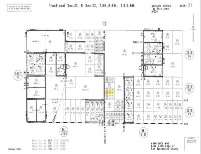 Adelanto Residential Lots & Land For Sale: Mountain View Road