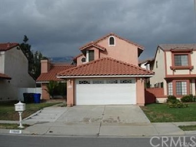 Rancho Cucamonga Single Family Home For Sale: 11648 Mount Jefferson Drive