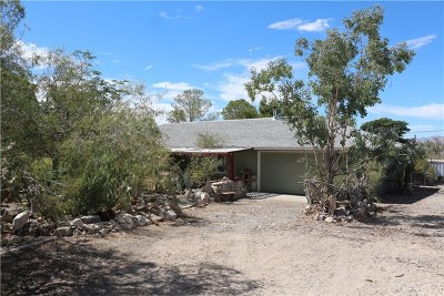 Lucerne Valley Single Family Home For Sale: 36276 Arroyo Road