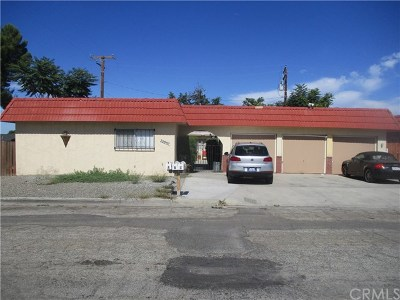 Hemet, San Jacinto Multi Family Home For Sale: 25997 Cherrywood Drive