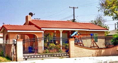 Baldwin Park Single Family Home For Sale: 4550 Center Street