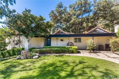 Glendora Single Family Home For Sale: 1129 Glencoe Heights Drive