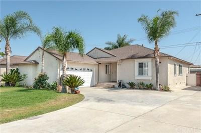 Downey Single Family Home For Sale: 7815 Devenir Avenue