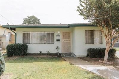 El Monte Single Family Home For Sale: 4008 Cypress Avenue
