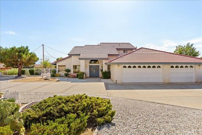 Apple Valley Single Family Home For Sale: 16410 Wintun Road