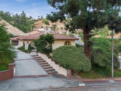 Claremont Single Family Home For Sale: 2508 N Mountain Avenue
