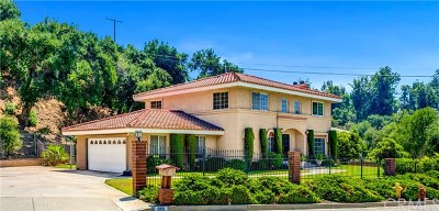 Glendora Single Family Home For Sale: 810 Mountain Lane