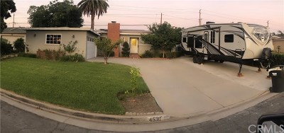 Covina Single Family Home For Sale: 4530 N Glenvina Avenue
