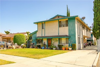Covina Multi Family Home For Sale: 354 E College Street