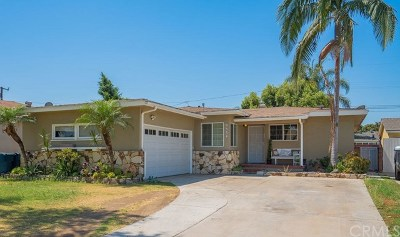 Bellflower Single Family Home For Sale: 9534 Prichard Street