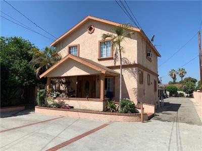 Pomona Multi Family Home For Sale: 595 Fillmore Place