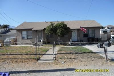 Fontana Multi Family Home For Sale: 15356 Merrill Avenue