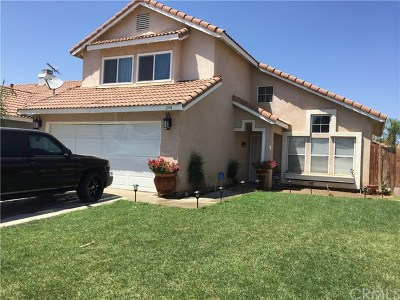 Perris Single Family Home For Sale: 294 Daystar Drive