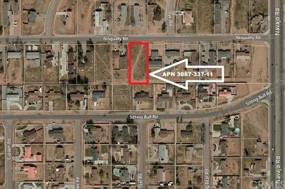 Apple Valley Residential Lots & Land For Sale: Nisqually Road