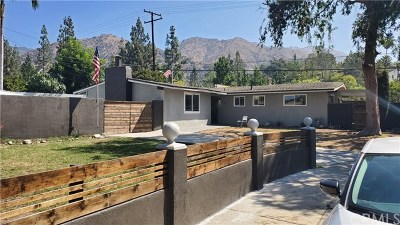 Azusa Single Family Home For Sale: 301 W Channing Street