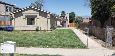 San Bernardino Single Family Home For Sale: 736 W 7th
