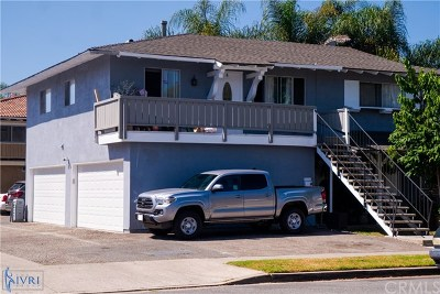 Huntington Beach Multi Family Home For Sale: 16612 Goldenwest Street