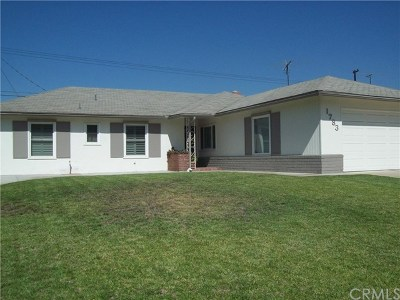 Pomona Single Family Home For Sale: 1783 Richard Street