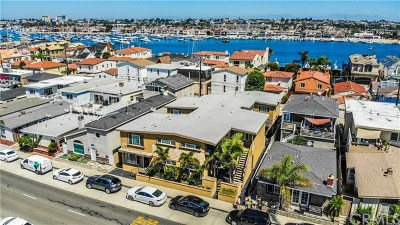 Newport Beach Multi Family Home For Sale: 1216 W Balboa Boulevard