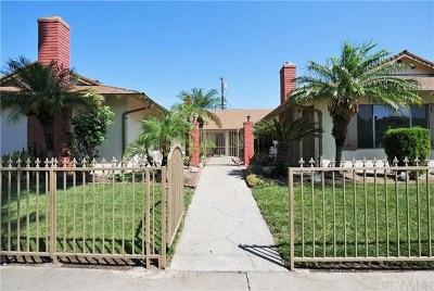 Anaheim Multi Family Home For Sale: 1837 W Glenoaks Avenue