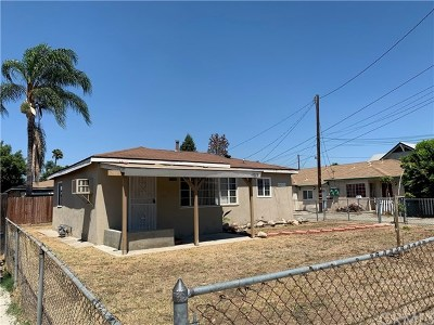 Pomona Single Family Home For Sale: 1035 Laurel Avenue