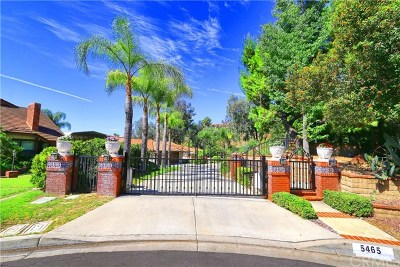 Yorba Linda Single Family Home For Sale: 5465 Brentwood Place