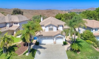 Chino Hills Single Family Home For Sale: 1624 Rancho Hills Drive
