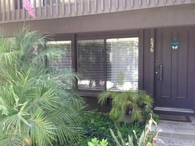 San Dimas Condo/Townhouse For Sale: 636 Cottonwood Lane