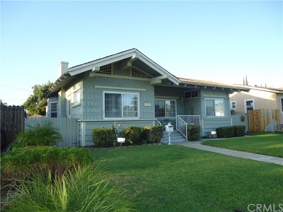 Pomona Single Family Home For Sale: 515 W Alvarado Street
