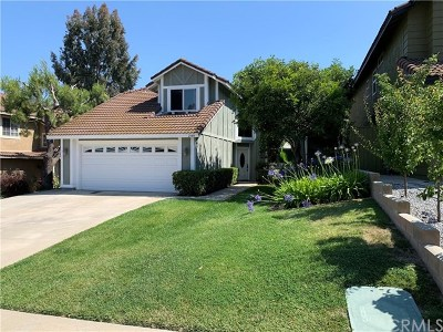 Chino Hills Single Family Home For Sale: 2549 Norte Vista Dr