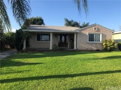 La Puente Single Family Home For Sale: 15965 Doublegrove Street