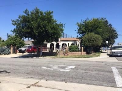 La Puente Single Family Home For Sale: 740 Greycliff Avenue