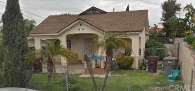 Santa Ana Multi Family Home For Sale: 5213 Roosevelt Avenue