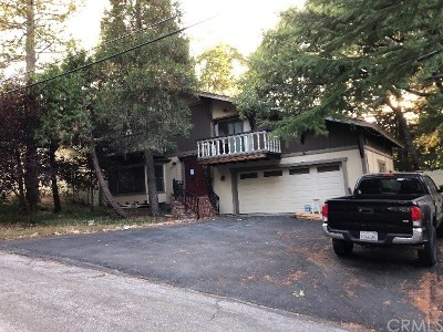Crestline CA Single Family Home For Auction: $275,900