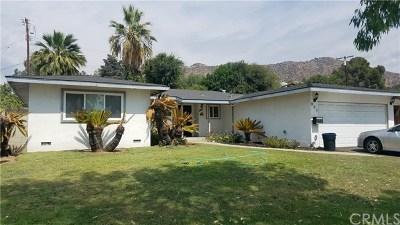 Azusa CA Single Family Home For Sale: $585,000