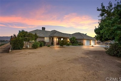 Hesperia CA Single Family Home For Sale: $469,500