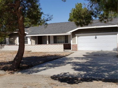 Apple Valley CA Single Family Home For Sale: $265,000
