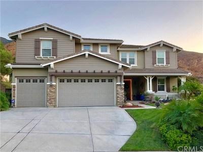 Corona Single Family Home For Sale: 3554 Rockrose Drive
