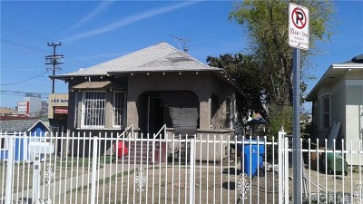 Los Angeles Single Family Home For Sale: 705 E 21st Street