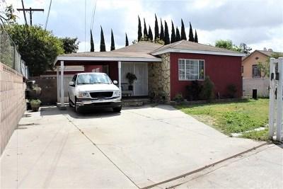 Lynwood Single Family Home For Sale: 12206 Alpine Avenue